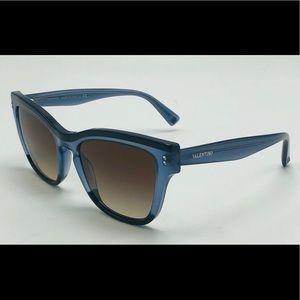 New Valentino VA 4036 Blue/Opal Sunglasses